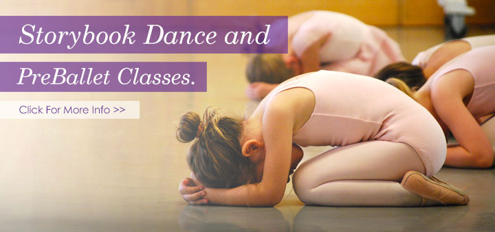 Storybook Dance and PreBallet classes